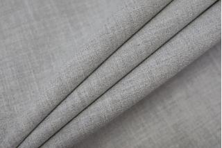 Креп костюмно-плательный поливискозный светло-серый Hugo Boss NST 31082034