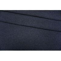 Костюмно-пальтовая шерсть черно-синяя PRT-W3 09102002