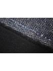 Пальтово-костюмный твид серо-синий продублированный TRC-G7 09102004