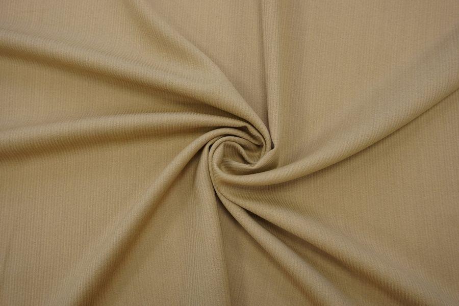 Костюмно-плательная шерсть бежево-песочная TXH 09102005