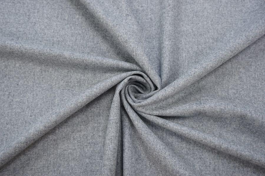 Костюмная шерстяная фланель серая TRC-G7 09102010
