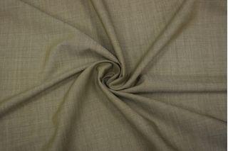 Тонкий костюмный твид шерстяной с шелком оливково-белый TXH-D5 09102024