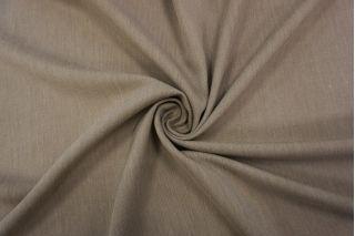 Тонкая костюмная шерсть серо-бежевая TXH-I7 09102025