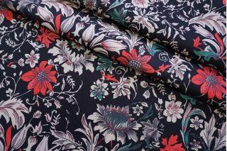 Костюмно-пальтовая шерсть цветочная TXH-T6 28092061