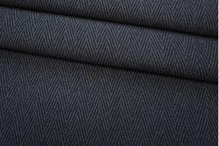 Шерсть пальтовая фактурная темно-серая TXH-B2 28092064