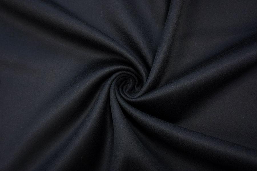 Пальтовый кашемир двухслойный черный TRC-D2 28092066