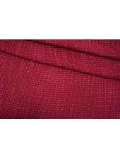 ОТРЕЗ 0,6 М Шанель шерстяная малиново-ягодная TXH-(40)- 28092067-1