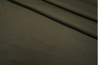 Пальтовая шерсть с кашемиром дабл болотно-зеленая TXH-D3 28092073