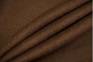 Пальтовая шерсть с кашемиром дабл шоколадная TXH-СС4 28092074