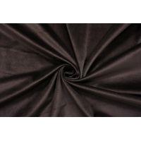 Бархат хлопковый темный кофейно-коричневый SMF-K70 01122012