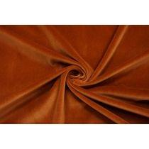 ОТРЕЗ 2,85 М Бархат-стрейч хлопковый рыже-коричневый SMF.H-(50)- 01122020-1
