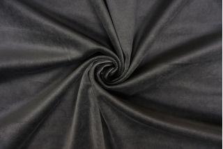 Бархат-стрейч хлопковый темно-серый SMF-Z4 01122021