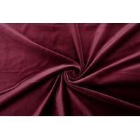 ОТРЕЗ 1,15 М Бархат хлопковый ягодное вино SMF-(45)- 01122025-1