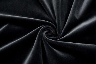 Бархат хлопковый черный SMF.H-Z7 01122028