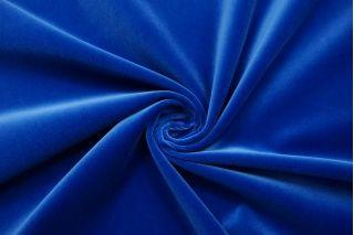Бархат хлопковый насыщенный синий SMF-Z7 01122029