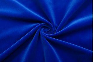 Бархат хлопковый королевский синий SMF-Z7 01122030