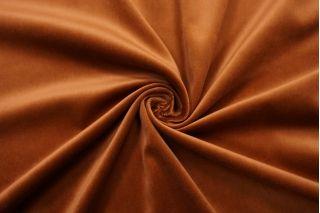 Бархат хлопковый карамельно-коричневый SMF-Z7 01122031