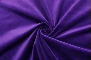 Бархат хлопковый глубокий фиолетовый SMF-Z6 01122034