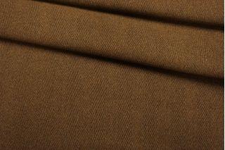 Пальтовая шерсть коричневая елочка BRS.H-CC7 01122040