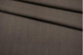 Пальтовая шерсть в елочку кофейно-серая BRS.H-DD40 01122043