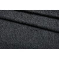 Пальтовая шерсть черно-серая с мохером BRS.H-DD3 01122044