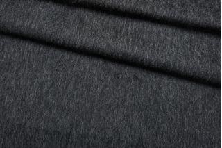 Пальтовая шерсть черно-серая с мохером BRS.H-DD40 01122044