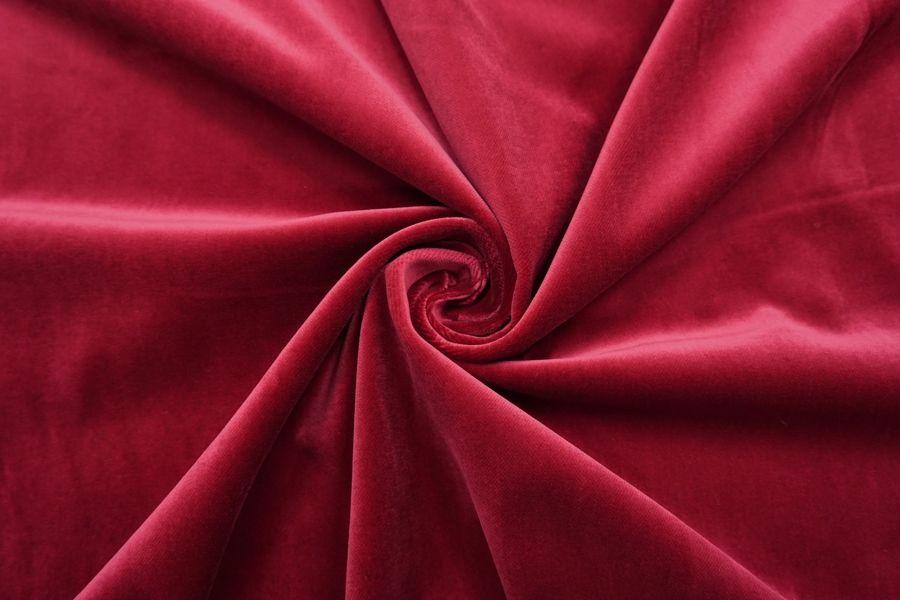 Бархат хлопковый рубиновый SMF.H-K40 01122046