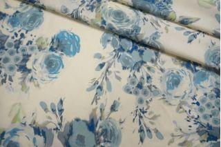 Костюмно-плательная шерсть голубые цветы SVR.H-E3 01122050
