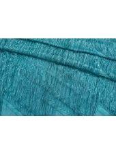 Шелк с бахромой бирюзово-голубой Gucci SVR-АА4 01122057