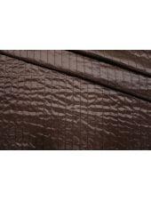 Курточная стежка на утеплителе темно-коричневая TRC-I7 02122018