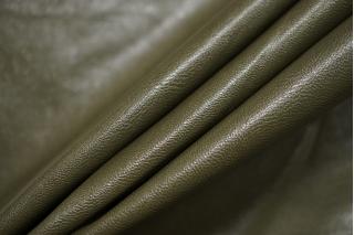Экокожа на вискозе зеленый хаки DRT-I3 09122005