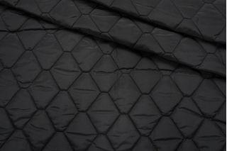 Курточная стежка на утеплителе черная SR-C6 09122023