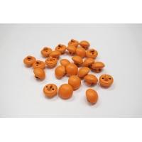Пуговица костюмно-плательная на ножке пластик оранжевая 12 мм PRT-(H)- 11122022