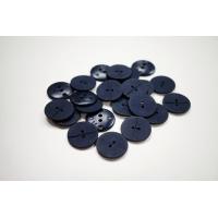 Пуговица костюмно-пальтовая пластик 22 мм темно-синяя-(CD)- 11122048
