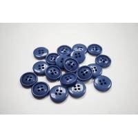 Пуговица костюмная пластик 22 мм светло-синий-(EF)- 11122059