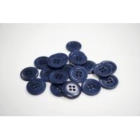 Пуговица костюмная пластик серо-синяя 20 мм PRT-(CD)- 11122082