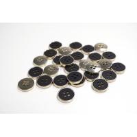Пуговица костюмная металлическая черная 15 мм PRT-(K)- 11122090
