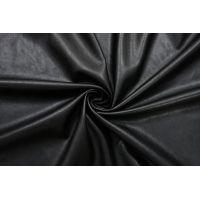 ОТРЕЗ 0,5 М Экокожа на замше черная OFF-WHITE DRT-(21)- 13122012-1