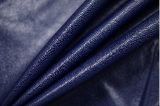 Экокожа на вискозе глубокая синяя DRT-I3 13122013