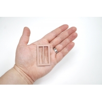 Пряжка металл розовая 50х32 мм PRT-(T)- 21122002