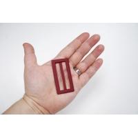 Пряжка металл красная 62х32 мм PRT-(T)- 21122003
