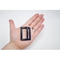 Пряжка двойная металл черная с синевой 53х40 мм PRT-(T)- 21122007