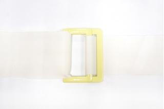 Пряжка двойная металл желтая 65х48 мм PRT 21122010