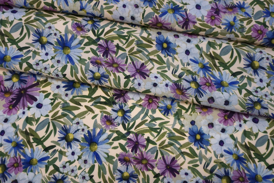 Креповая вискоза цветы PRT H5 08062008