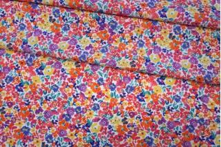 Хлопок органический с цветочками PRT-E3 08062009