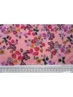 Хлопок органический цветы на розово-персиковом PRT-A60 08062014