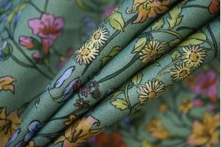 Хлопок органический с цветочками PRT-E3 08062024