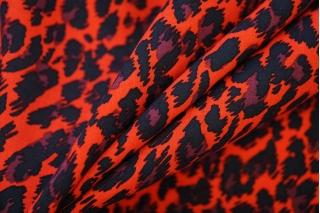 Штапель леопард красный PRT-X4 08062025