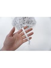 Резинка белая 1 см WT 098028