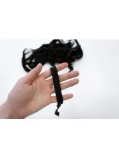 Тесьма брючная черная 1,5 см WT 277949